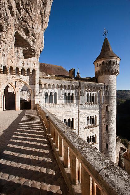 Europe/Europe/France/Midi-Pyrénées/46/Lot/Rocamadour: Cité religieuse - le sanctuaire