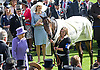 QUEEN ELIZABETH'S HORSE TESTS POSTIVE FOR BANNED DRUG<br /> The Queen&rsquo;s racehorse Estimate has sensationally tested positive for Morphine.<br /> Buckingham Palace confirmed that the prohibited substance was  detected in a sample taken from the five-year-old mare after she finished second to Leading Light in the Ascot Gold Cup.<br /> The horse could now be stripped of its second-place finish in the 2014 Gold Cup, which would mean the Queen would also forfeit the &pound;80,625 prize money for the second-placed horse.<br /> The five-year-old filly trained by Newmarket based Sir Michael Stoute.<br /> Picture Shows: The Queen and Sir Michael Stoute with Estimate, after its first win at Royal Ascot.<br /> <br /> <br /> QUEEN WINS QUEEN'S VASE AT ROYAL ASCOT.<br /> The Queen was a winner with her horse Estimate in the second last race of the day.<br /> The trophy was presented to her by Prince Philip, Day 4 Royal Ascot, Ascot_22/06/2012<br /> Mandatory Credit Photo: &copy;Dias/NEWSPIX INTERNATIONAL<br /> <br /> **ALL FEES PAYABLE TO: &quot;NEWSPIX INTERNATIONAL&quot;**<br /> <br /> IMMEDIATE CONFIRMATION OF USAGE REQUIRED:<br /> Newspix International, 31 Chinnery Hill, Bishop's Stortford, ENGLAND CM23 3PS<br /> Tel:+441279 324672  ; Fax: +441279656877<br /> Mobile:  07775681153<br /> e-mail: info@newspixinternational.co.uk