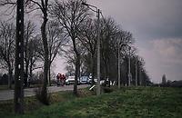 breakaway group gets up to 9 minutes<br /> <br /> Driedaagse Brugge-De Panne 2018<br /> Bruges - De Panne (202km)