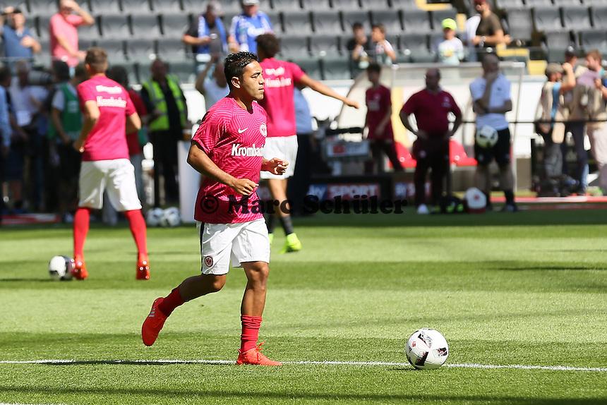 Marco Fabian (Eintracht Frankfurt) - 27.08.2016: Eintracht Frankfurt vs. FC Schalke 04, Commerzbank Arena