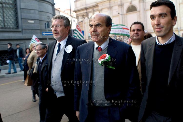 Pierluigi Bersani.© Andrea Pagliarulo/Buenavista