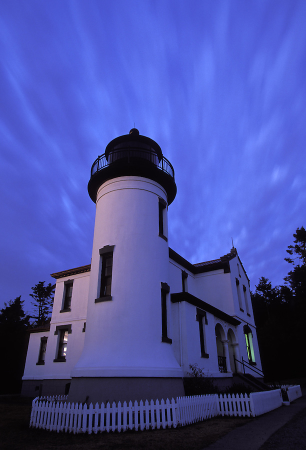 Admiralty Head Lighthouse, Fort Casey State Park, Coupeville, Whidbey Island, Washington