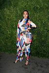 La La Anthony attends the Fifteenth Annual CFDA/Vogue Fashion Fund Awards at the Brooklyn Navy Yard building 28, at 63 Flushing Avenue, on November 5, 2018.