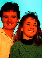 Ron and Michelle Holmes, 1987.  &amp;#xA;<br />