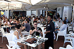 CAPE TOWN, SOUTH AFRICA - MARCH 21: Upmarket restaurant used by whites only at Waterfront, a shopping and harbor area on March 21, 2012 in Cape Town, South Africa. (Photo by Per-Anders Pettersson)