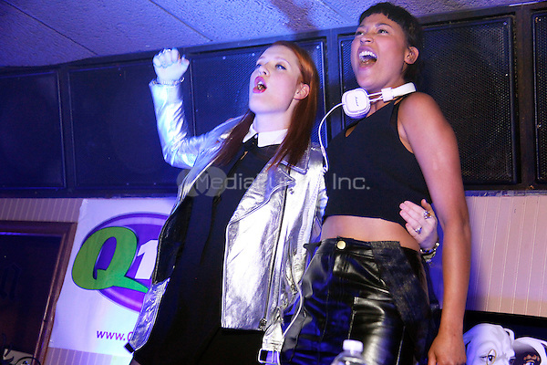 CHERRY HILL, NJ - FEBRUARY 15 :  Icona Pop perform at The Coastline in Cherry Hill, New Jersey on February 15, 2014  photo credit Star Shooter / MediaPunch