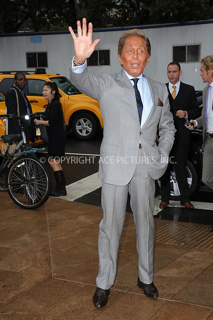 WWW.ACEPIXS.COM . . . . . ....September 7 2011, New York City....Valentino arriving at The Couture Council of The Museum at the Fashion Institute of Technology (FIT) 2011 Couture Council Award for Artistry of Fashion honoring Valentino on September 7, 2011 at the David H. Koch Theater, Lincoln Center, New York City....Please byline: KRISTIN CALLAHAN - ACEPIXS.COM.. . . . . . ..Ace Pictures, Inc:  ..tel: (212) 243 8787 or (646) 769 0430..e-mail: info@acepixs.com..web: http://www.acepixs.com