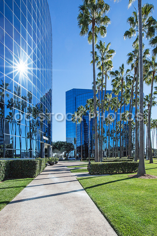 Glass Business Buildings on 9255 Town Center Drive in La Jolla San Diego