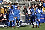 Hoffenheim 07.05.2008, Torjubel von Hoffenheim in der 2.Bundesliga 2007/2008 TSG 1899 Hoffenheim - TuS Koblenz<br /> <br /> Foto &copy; Rhein-Neckar-Picture *** Foto ist honorarpflichtig! *** Auf Anfrage in h&ouml;herer Qualit&auml;t/Aufl&ouml;sung. Belegexemplar erbeten.