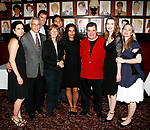 Laura Koffman, Mark LaMura. Patrick Boll, Pamela Hall (Director) , Paolo Maontalban (Producer), Sarita Choudhury, Michael Badalucco, Myra Bairstow (Playwright) & Sarah Wynter<br />attending the Opening Night Performance of THE RISE OF DOROTHY HALE at the St. Lukes Theatre with an after party at Sardi's Restaurant in New York City.<br />September 30, 2007