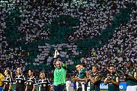 ATENÇÃO EDITOR: FOTO EMBARGADA PARA VEÍCULOS INTERNACIONAIS - SÃO PAULO, SP, 11 DE DEZEMBRO DE 2012 - JOGO DE DESPEDIDA DO GOLEIRO MARCOS - xxxxxxx durante partida de despedida do goleiro Marcos, entre o time do Palmeiras de 1999 Campeão da Libertadores contra a Seleção Brasileira de 2002 Campeã do Mundo. A partida foi disputada na noite desta terça feira (11) no Estádio do Pacaembu em São Paulo. FOTO: LEVI BIANCO - BRAZIL PHOTO PRESS