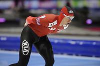 SCHAATSEN: HEERENVEEN: IJsstadion Thialf, 11-01-2013, Seizoen 2012-2013, Essent ISU European Championships allround, 5000m Men, Bram Smallenbroek (AUT), ©foto Martin de Jong