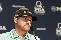 Defending Champion Jimmy Walker (USA) press conference during Tuesday's Practice Day of the 2017 PGA Championship held at Quail Hollow Golf Club, Charlotte, North Carolina, USA. 8th August 2017.<br /> Picture: Eoin Clarke | Golffile<br /> <br /> <br /> All photos usage must carry mandatory copyright credit (&copy; Golffile | Eoin Clarke)