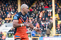 Picture by Allan McKenzie/SWpix.com - 11/02/2018 - Rugby League - Betfred Super League - Castleford Tigers v Widnes Vikings - the Mend A Hose Jungle, Castleford, England - Jake Webster.