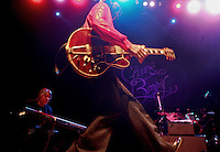 Saturday, December 13, 2008--St. Louis rock legend Chuck Berry does his trademark 'duck walk' during a sold-out show at The Pageant..Sarah Conard | freelance