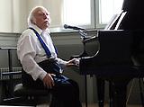 Leopold Kleinman-Kozlowski- 94 jaehriger Klezmer Musiker / Leopold Kleinman-Kozlowski- 94 jaehriger