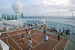 Shipboard Volleyball game