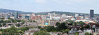 Sheffield City Centre Skyline.<br />