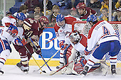 Brad King, Chris Collins, Cleve Kinley, Vinny Monaco, Brian Boyle, Kelly Sullivan - The University of Massachusetts-Lowell River Hawks defeated the Boston College Eagles 6-3 on Saturday, February 25, 2006, at the Paul E. Tsongas Arena in Lowell, MA.