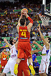 Spain's  GASOL, Pau during 2014 FIBA Basketball World Cup Group Phase-Group A, match Serbia vs Spain. Palacio  Deportes of Granada. September 4,2014. (ALTERPHOTOS/Raul Perez)