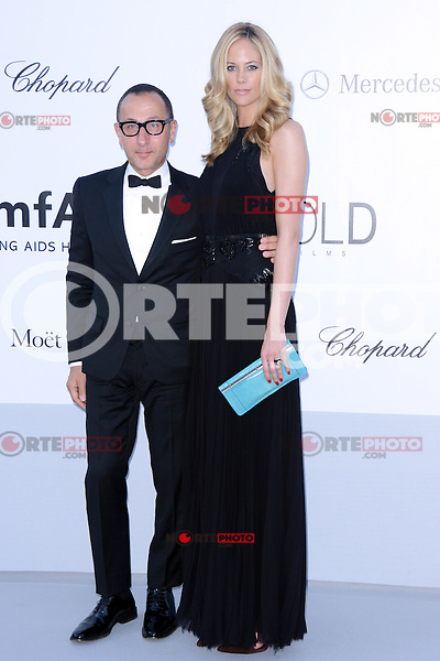 "Kylie Case and Gilles Mendel attending the ""On the Road"" Premiere during the 65th annual International Cannes Film Festival in Cannes, France, 23rd May 2012...Credit: Timm/face to face, / Mediapunchinc"