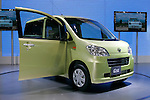 Daihatsu Exe Tanto on display during the first press day for the 41th Tokyo Motor Show, 21 October 2009 in Tokyo (Japan). The TMS will be open for the public from 23 October 2007 to 4 November 2009.