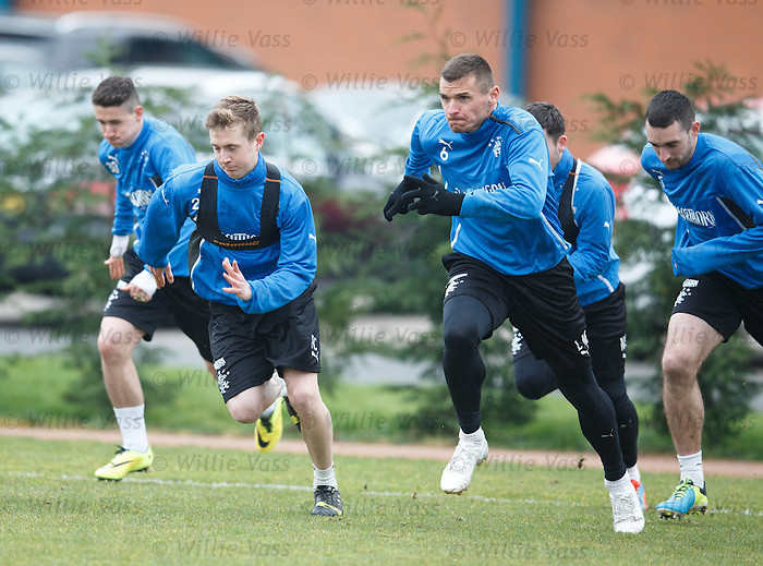 Robbie Crawford and Lee McCulloch