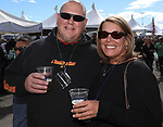 Brien Donnalley and Jennifer Fudem during the Beer and Chili Festival at the Grand Sierra Resort in Reno, Nevada on Saturday, Oct. 21, 2017.