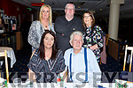 The Drury family celebrating Noel Drury&rsquo;s 80th birthday in the Kingdom Greyhound track on Friday night.Seated Ann and Noel Drury.<br /> Back l-r, Theresa and Michael Drury and Catherine Casey.