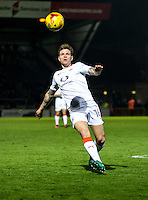 Glen Rea of Luton Town during the Sky Bet League 2 match between Wycombe Wanderers and Luton Town at Adams Park, High Wycombe, England on the 21st January 2017. Photo by Liam McAvoy.