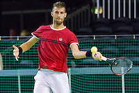 ABN AMRO World Tennis Tournament, Rotterdam, The Netherlands, 13 februari, 2017, Martin Klizan (SVK)<br /> Photo: Henk Koster