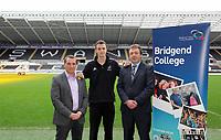 2012 02 23 Brendan Rodgers & Bridgend College, Swansea, UK