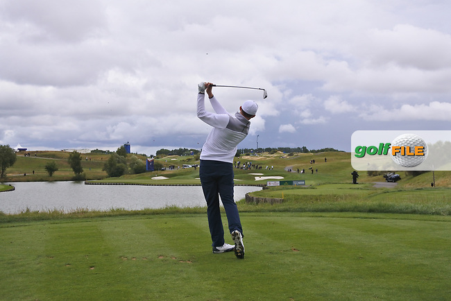 Matthew Fitzpatrick (ENG) on the 2nd tee during Round 2 of the HNA Open De France  at The Golf National on Friday 30th June 2017.<br /> Photo: Golffile / Thos Caffrey.<br /> <br /> All photo usage must carry mandatory copyright credit      (&copy; Golffile | Thos Caffrey)