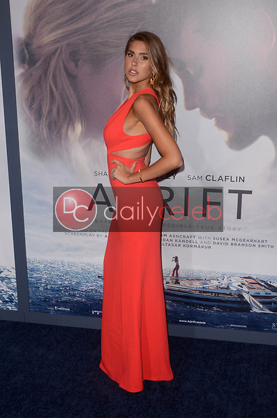 "Kara Del Toro<br /> at the ""Adrift"" World Premiere, Regal Cinemas L.A. Live, Los Angeles, CA 05-23-18<br /> David Edwards/DailyCeleb.com 818-249-4998"