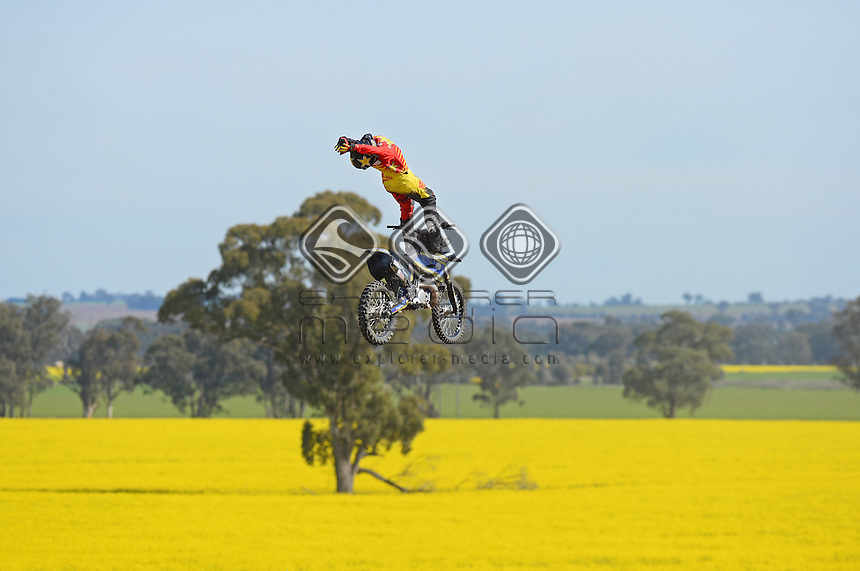 Jackson Strong (AUS)<br /> Strong Compound - Lockhart NSW<br /> September 2014 / Australia<br /> &copy; Sport the library / Jeff Crow