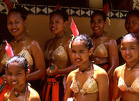 Traditional Palau Girls