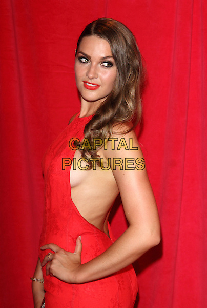 LONDON, ENGLAND - MAY 24:Anna Passey attends the British Soap Awards at Hackney Empire on May 24, 2014 in London, England<br /> CAP/ROS<br /> &copy;Steve Ross/Capital Pictures