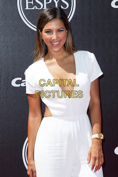 LOS ANGELES, CA - JULY 16: Liz Hernandez at the 2014 ESPYs at Nokia Theatre L.A. Live in Los Angeles, California on July 16th, 2014.   <br /> CAP/MPI/mpi99<br /> &copy;mpi99/MediaPunch/Capital Pictures