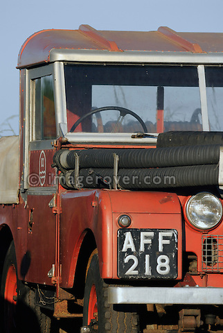 Series 1 86in Fire Engine ICI. Dunsfold Collection Open Day 2009. NO RELEASES AVAILABLE.