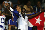 06 September 2008: Cuba fan. The United States Men's National Team defeated the Cuba Men's National Team 1-0 at Estadio Nacional de Futbol Pedro Marrero in Havana, Cuba in a CONCACAF semifinal round FIFA 2010 South Africa World Cup Qualifier.