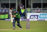 Ed Joyce batting at the Ireland v England One Day Cricket International held at Malahide Cricket Club, Dublin, Ireland. 8th May 2015.<br /> Photo: Joe Curtis/www.newsfile.ie