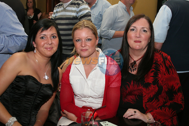 Theresa, Siobhan and Lucy Wood in McHughs...Photo NEWSFILE/Jenny Matthews.(Photo credit should read Jenny Matthews/NEWSFILE)....This Picture has been sent you under the condtions enclosed by:.Newsfile Ltd..The Studio,.Millmount Abbey,.Drogheda,.Co Meath..Ireland..Tel: +353(0)41-9871240.Fax: +353(0)41-9871260.GSM: +353(0)86-2500958.email: pictures@newsfile.ie.www.newsfile.ie.FTP: 193.120.102.198.