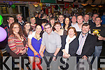 Enjoying a surprise 40th birthday party was Jerry Finucane from Athea, pictured here celebrating with family and friends last Saturday night in Brown Joe's Bar, Athea.