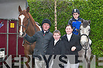 HUNT: Ian ORiordan, Mike Moriarty, Catriona OSullivan and Denis OSullivan, Castlemaine, at the Muckross Hunt in Killarney last Sunday..