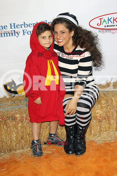 UNIVERSAL CITY, CA - OCTOBER 21:  Marissa Jaret Winokur at the Camp Ronald McDonald for Good Times 20th Annual Halloween Carnival at the Universal Studios Backlot on October 21, 2012 in Universal City, California. © mpi28/MediaPunch Inc. /NortePhoto