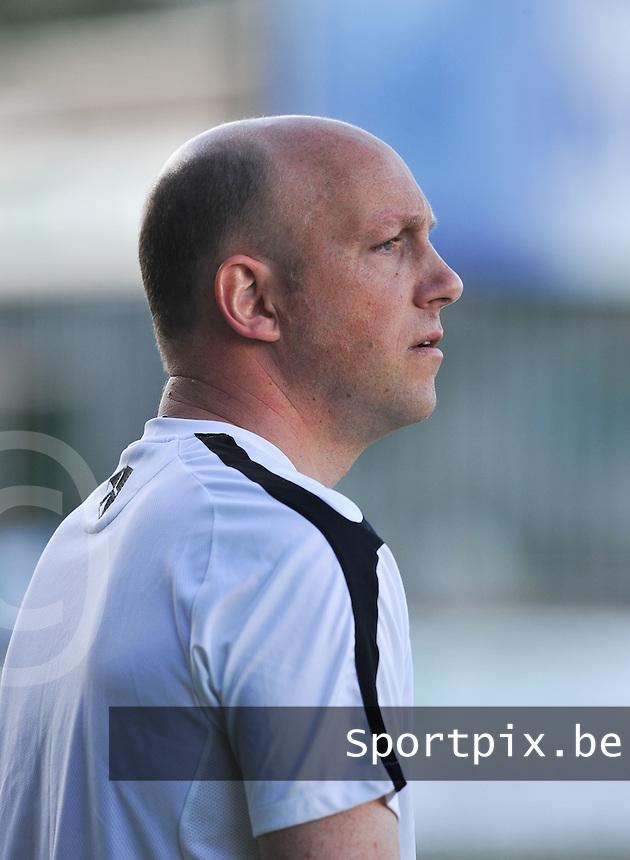 Torhout KM : trainer coach Didier Degomme.foto VDB / BART VANDENBROUCKE