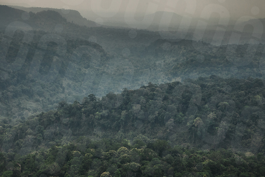 February 13, 2015 - Cambodia. An aerial view of the Cardamom mountains.  © Hannah Reyes / Ruom