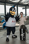 Tottenham Hotspurs' mascott Chirpy visits Hong Kong to welcome their new sponsor AIA on October 22, 2013 at different locations of Hong Kong in Hong Kong, China. Photo by Xaume Olleros / The Power of Sport Images