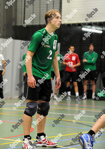 2012-10-13 / Volleybal / Seizoen 2012-2013 / Mendo Booischot / Dries Vekemans..Foto: Mpics.be