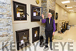 Denis O'Leary displaying some of the Stoves on offer in Corcorans Stove and Fireplace Centre Killarney